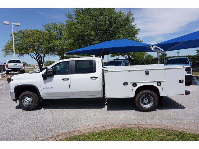 2021 Chevrolet Silverado 3500 Crew Cab AWD, Knapheide Steel Service Body #212151 - photo 8