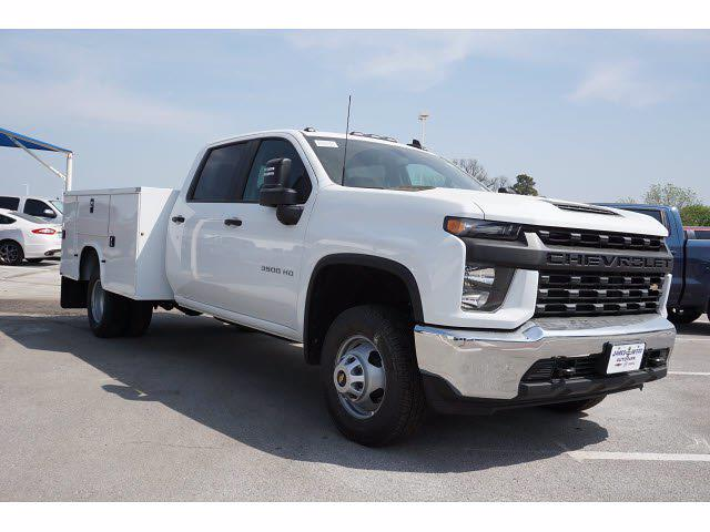 2021 Chevrolet Silverado 3500 Crew Cab AWD, Knapheide Steel Service Body #212163 - photo 3
