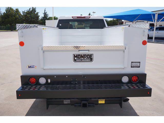 2021 Chevrolet Silverado 2500 Double Cab 4x4, Monroe MSS II Deluxe Service Body #212334 - photo 7