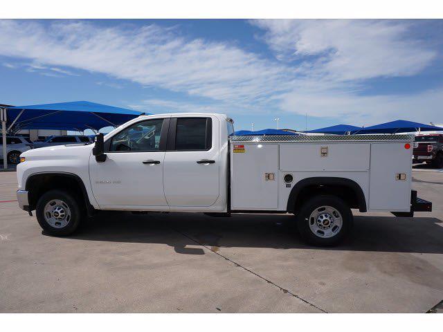 2021 Chevrolet Silverado 2500 Double Cab 4x4, Monroe MSS II Deluxe Service Body #212334 - photo 8