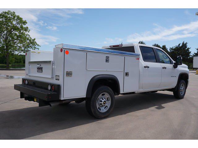 2021 Chevrolet Silverado 2500 Crew Cab 4x4, Monroe MSS II Service Body #212351 - photo 5