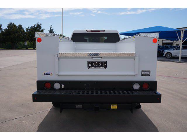 2021 Chevrolet Silverado 2500 Crew Cab 4x4, Monroe MSS II Service Body #212351 - photo 6