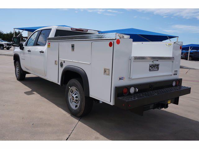 2021 Chevrolet Silverado 2500 Crew Cab 4x4, Monroe MSS II Service Body #212351 - photo 2