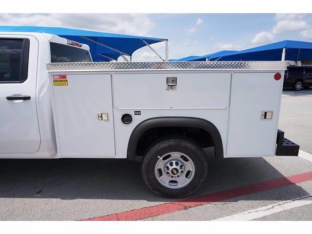 2021 Chevrolet Silverado 2500 Crew Cab 4x4, Monroe MSS II Service Body #212358 - photo 10