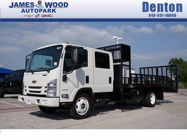 2021 Chevrolet LCF 4500 Crew Cab 4x2, RhinoPro Truck Outfitters Dovetail Landscape #212391 - photo 1