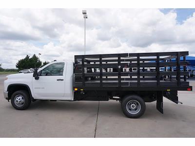 2021 Chevrolet Silverado 3500 Regular Cab 4x2, Reading Steel Stake Bed #212392 - photo 8