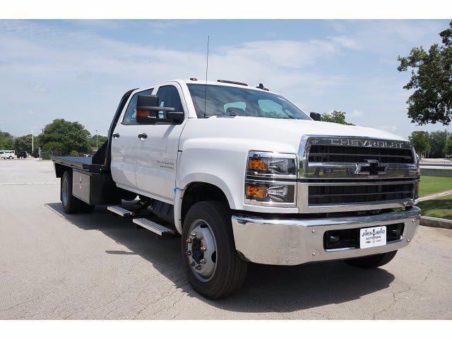 2021 Chevrolet Silverado 5500 Crew Cab DRW 4x2, CM Truck Beds RD Model Platform Body #212396 - photo 3