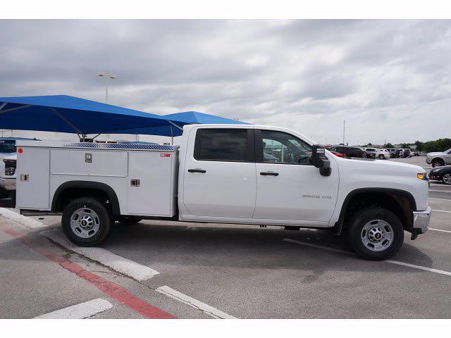 2021 Chevrolet Silverado 2500 Crew Cab 4x4, Monroe MSS II Deluxe Service Body #212464 - photo 8