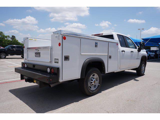 2021 Chevrolet Silverado 2500 Double Cab 4x4, Monroe MSS II Deluxe Service Body #212507 - photo 6