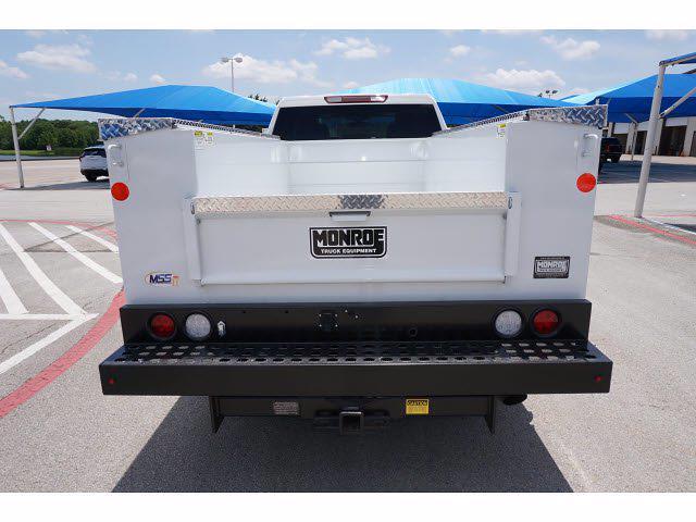2021 Chevrolet Silverado 2500 Double Cab 4x4, Monroe MSS II Deluxe Service Body #212507 - photo 7