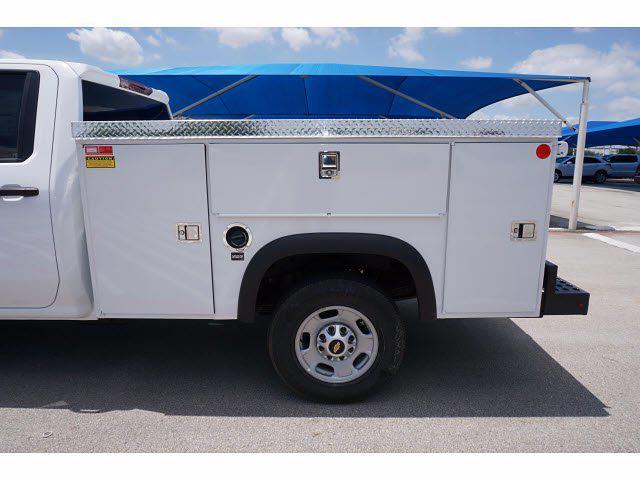 2021 Chevrolet Silverado 2500 Double Cab 4x4, Monroe MSS II Deluxe Service Body #212507 - photo 9