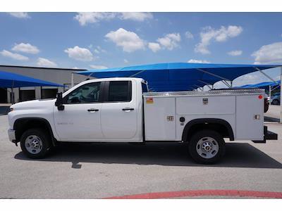 2021 Chevrolet Silverado 2500 Double Cab 4x4, Monroe MSS II Deluxe Service Body #212507 - photo 8