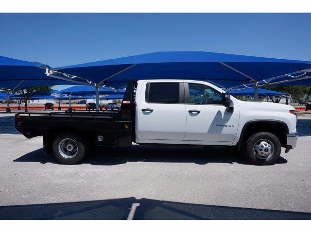 2021 Silverado 3500 Crew Cab 4x2,  Hillsboro GII Steel Platform Body #212734 - photo 5