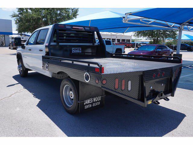 2021 Silverado 3500 Crew Cab 4x2,  Hillsboro GII Steel Platform Body #212734 - photo 2