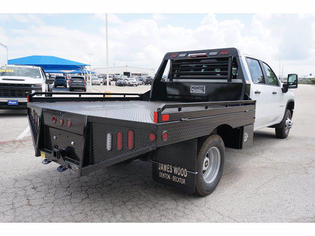 2021 Chevrolet Silverado 3500 Crew Cab 4x2, Hillsboro GII Steel Platform Body #212745 - photo 6