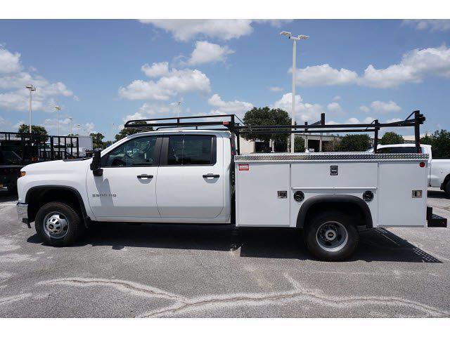 2021 Chevrolet Silverado 3500 Crew Cab 4x2, Monroe MSS II Deluxe Service Body #212786 - photo 8