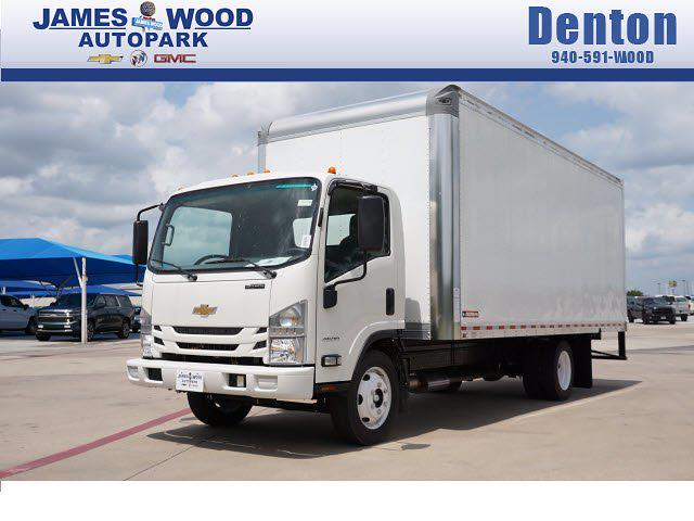 2021 LCF 4500 Regular Cab 4x2,  Morgan Truck Body Gold Star Dry Freight #213165 - photo 1
