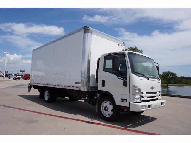 2021 LCF 4500 Regular Cab 4x2,  Morgan Truck Body Dry Freight #213324 - photo 4