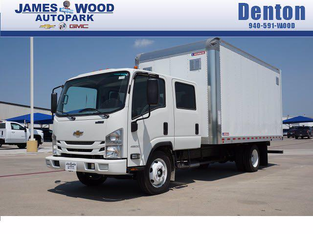 2021 LCF 4500 Crew Cab 4x2,  Morgan Truck Body Dry Freight #213433 - photo 1