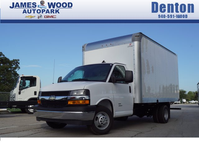 James Wood Chevrolet >> New 2018 Chevrolet Express 4500 Cutaway Van For Sale In Denton Tx