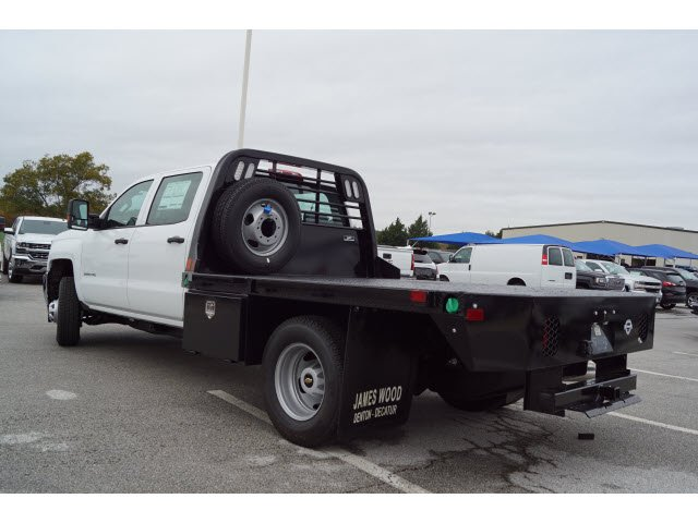 2019 Silverado 3500 Crew Cab DRW 4x4,  CM Truck Beds Platform Body #290871 - photo 2