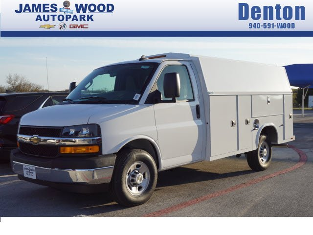 New 2019 Chevrolet Express 3500 Service Utility Van For Sale In