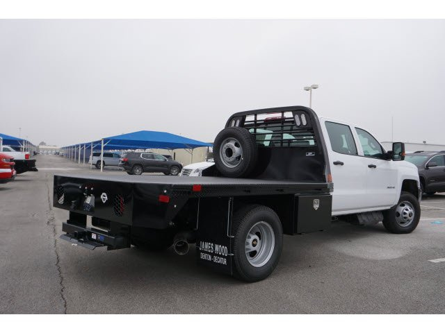 2019 Silverado 3500 Crew Cab DRW 4x4,  CM Truck Beds Platform Body #291557 - photo 2