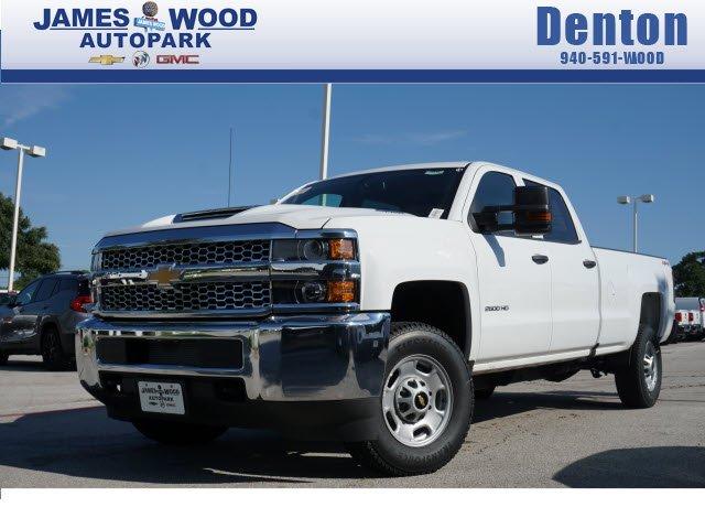 James Wood Chevrolet >> New 2019 Chevrolet Silverado 2500 Pickup For Sale In Denton Tx