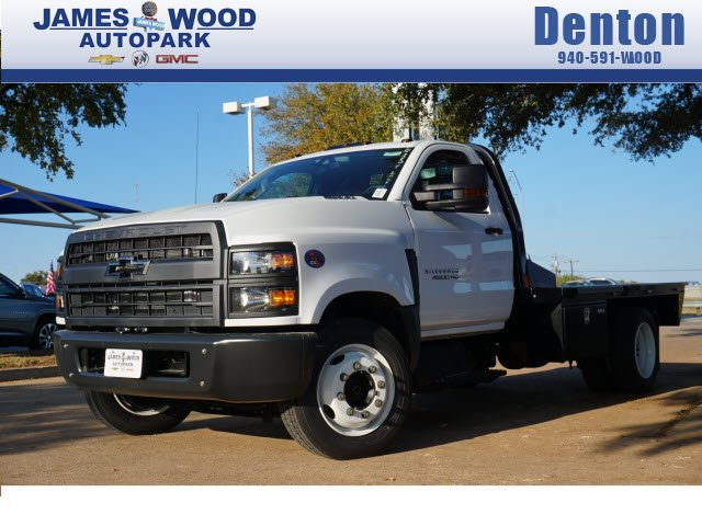 2019 Silverado 4500 Regular Cab DRW 4x2, CM Truck Beds RD Model Platform Body #293676 - photo 1