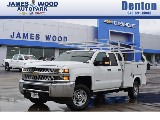 2019 Silverado 2500 Double Cab 4x2, Royal Service Body #294115 - photo 1