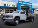 2017 Silverado 3500 Regular Cab DRW, Harbor Black Boss Stakebed Stake Bed #173168 - photo 1