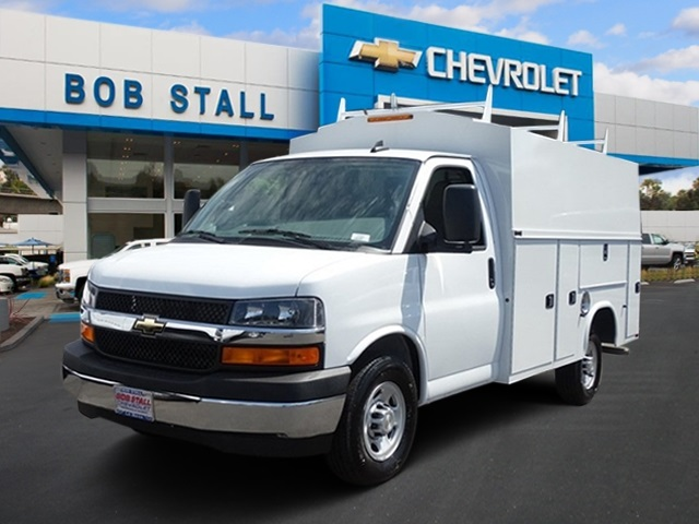 2017 Silverado 3500 Regular Cab DRW, Service Utility Van #173358 - photo 1