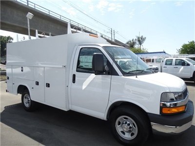 2017 Silverado 3500 Regular Cab DRW, Service Utility Van #173358 - photo 10