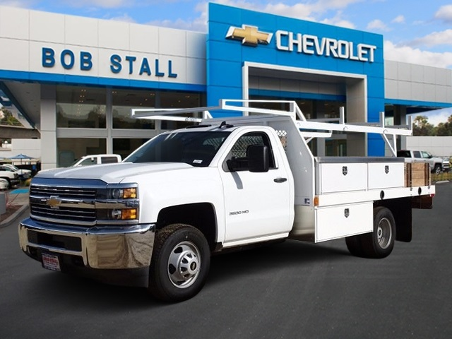 2017 Silverado 3500 Regular Cab DRW, Contractor Body #173384 - photo 1