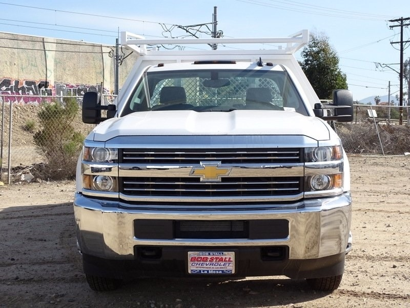 2017 Silverado 3500 Regular Cab DRW, Contractor Body #173384 - photo 8
