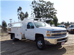 2017 Silverado 3500 Regular Cab DRW, Contractor Body #173384 - photo 7