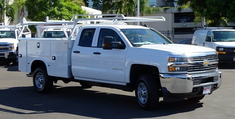 2017 Silverado 2500 Double Cab, Knapheide Standard Service Body #173433 - photo 7