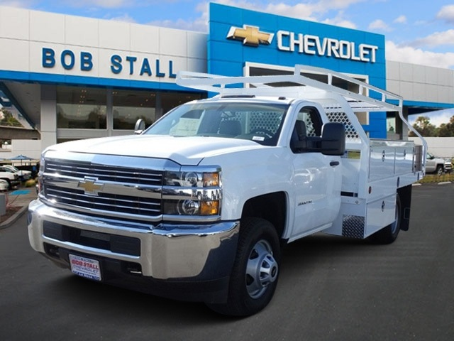 2017 Silverado 3500 Regular Cab DRW, Royal Contractor Bodies Contractor Body #173466 - photo 1