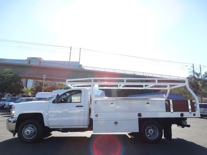 2017 Silverado 3500 Regular Cab DRW, Royal Contractor Bodies Contractor Body #173466 - photo 5