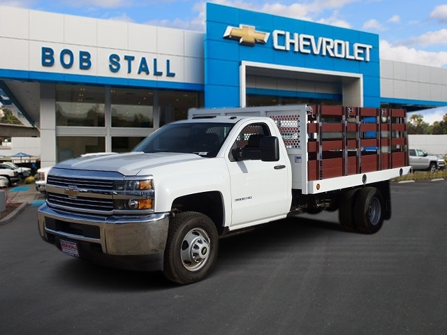 2017 Silverado 3500 Regular Cab DRW, Royal Stake Bed Bodies #173471 - photo 1