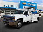 2017 Silverado 3500 Regular Cab DRW, Royal Contractor Bodies Contractor Body #173563 - photo 1