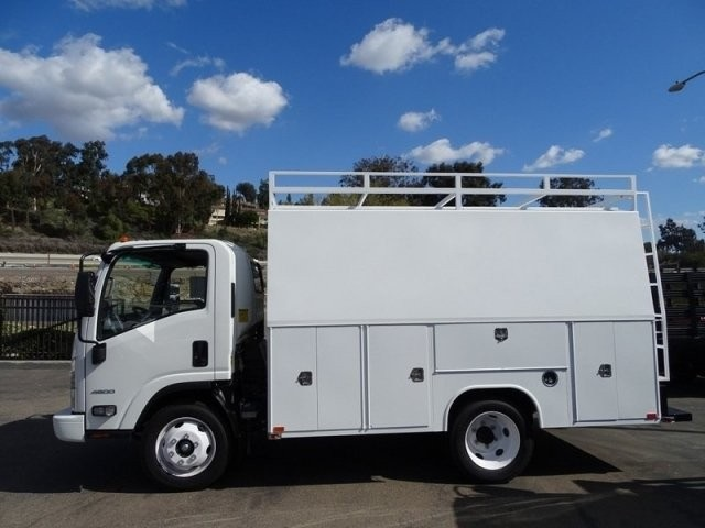 2017 LCF 4500 Regular Cab 4x2,  Harbor WorkMaster Service Utility Van #174010 - photo 2