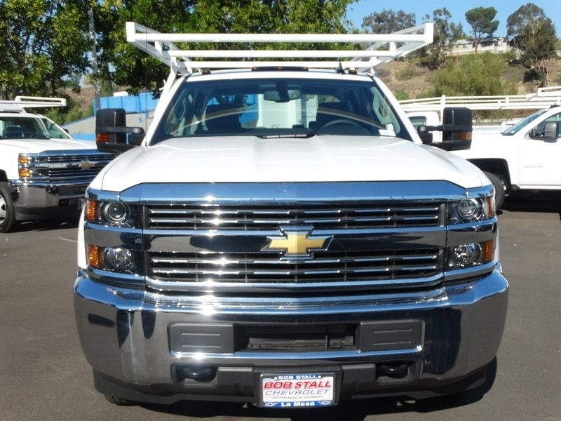 2018 Silverado 3500 Crew Cab DRW,  Harbor TradeMaster Service Body #183017 - photo 9