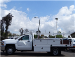 2018 Silverado 3500 Regular Cab DRW 4x2,  Royal Contractor Body #183148 - photo 2