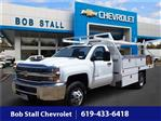 2018 Silverado 3500 Regular Cab DRW 4x2,  Royal Contractor Body #183171 - photo 1