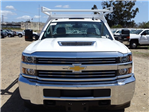 2018 Silverado 3500 Regular Cab DRW 4x2,  Harbor Standard Contractor Body #183192 - photo 5