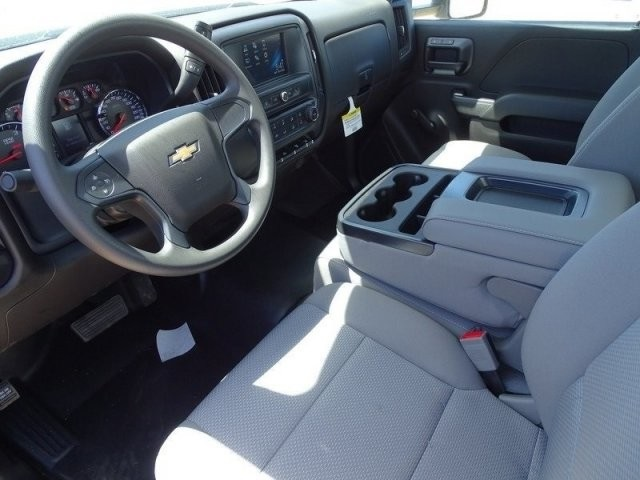 2018 Silverado 3500 Regular Cab DRW 4x2,  Harbor Standard Contractor Body #183203 - photo 12