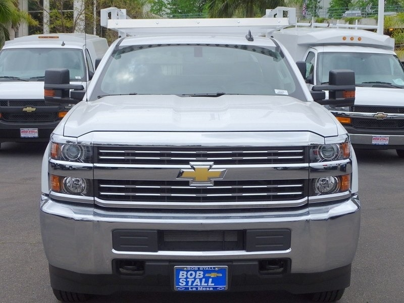 2018 Silverado 2500 Crew Cab 4x2,  Royal Service Body #183204 - photo 4