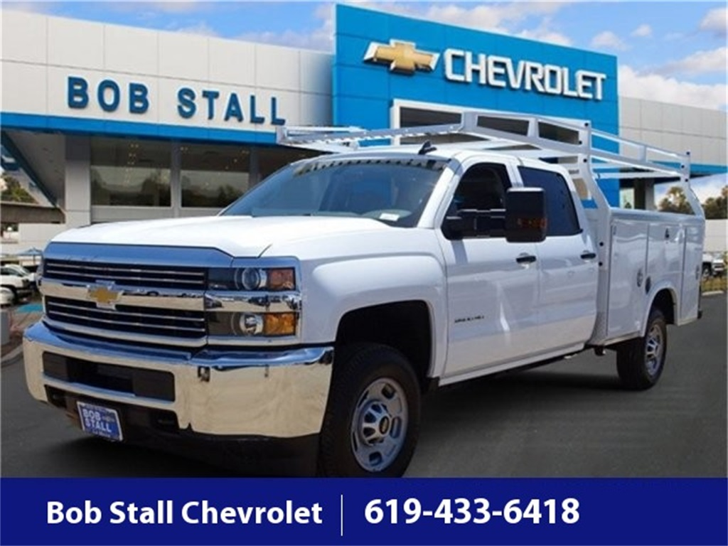 2018 Silverado 2500 Crew Cab,  Royal Service Bodies Service Body #183214 - photo 1
