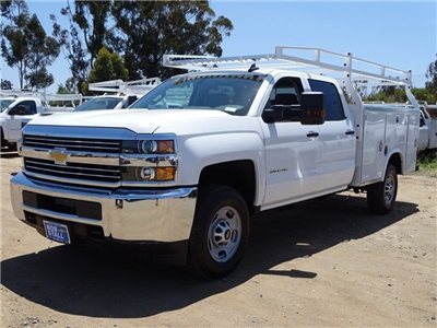 2018 Silverado 2500 Crew Cab,  Royal Service Bodies Service Body #183214 - photo 3